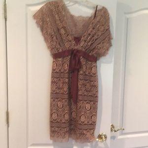 Yoana Baraschi size 4 lace cocktail dress